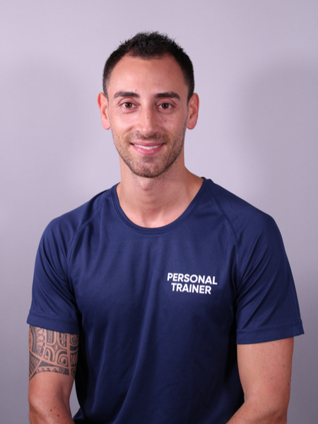 Personnal trainer Gregory Rosati